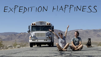 Netflix box art for Expedition Happiness