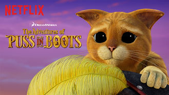 Is The Adventures of Puss in Boots on Netflix Austria?