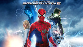 Netflix box art for The Amazing Spider-Man 2