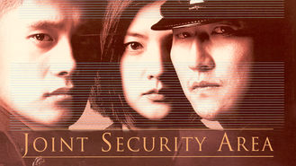 Netflix box art for Joint Security Area